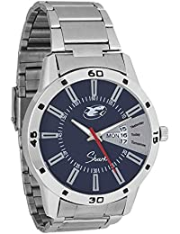 Shark Stainless Steel Day And Date Multi Colour Dial Analog Mens Watch (SRK-M0002-5052)