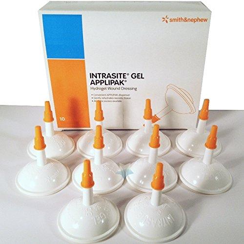 Nephew Intrasite Gel (Intrasite Gel Hydrogel-Wundkompresse APPLIPAK 66027311, 10 x 15 g)