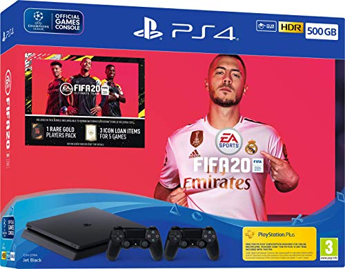 Fifa 20 500GB PS4 Bundle with Second DualShock 4 Controller (PS4)