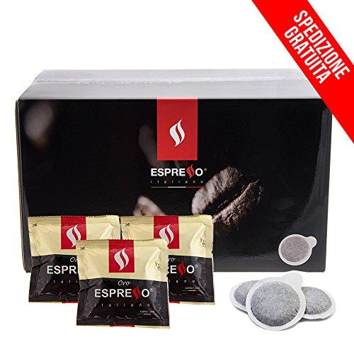 900 cialde Espresso Italiano compatibilità ESE 44mm miscela Oro