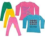 Indistar Girls Cotton Full Sleeves Print...