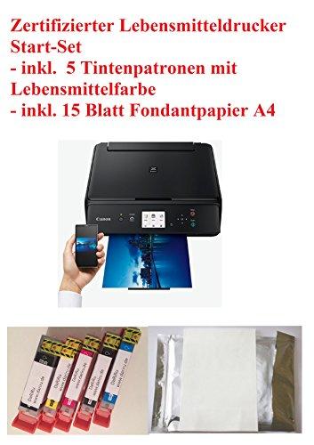 Neu Model Lebensmittel Drucker Startset Tintenstrahldrucker Fotodrucker