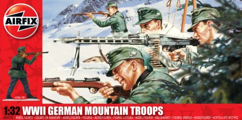 Airfix- WWII German Mountain Troops 1:32, A04713