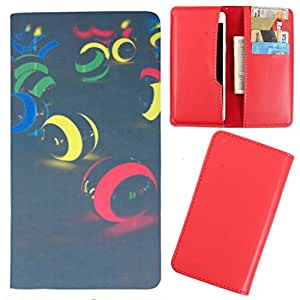 DooDa - For Njoy-X E7 PU Leather Designer Fashionable Fancy Case Cover Pouch With Card & Cash Slots & Smooth Inner Velvet