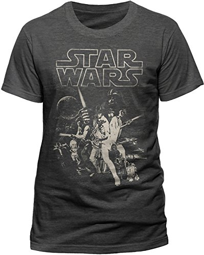 cid-herren-t-shirt-star-wars-a-new-hope-one-sheet-gr-large-grau