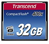 Transcend 32GB 400x Compact Flash Memory Card