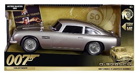 50e anniversaire James Bond Aston Martin DB5Goldfinger, 33cm -
