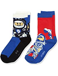 Lego Wear Nexo Knight Ace 704-Socks, Chaussettes Garçon, ( lot de 2 )