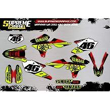 Kit Adhesivos Mate Yamaha WR 250 450 2016 2018 ADESIVI Sticker KLEBER AUFKLEBER