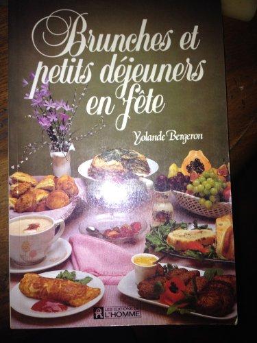 Brunches & petits dejeuners en par Yolande Bergeron