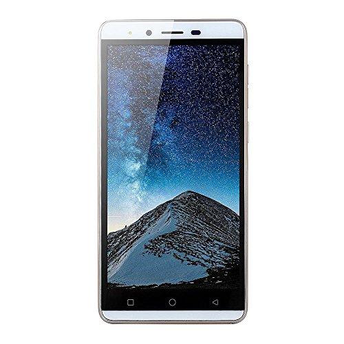Smartphone 5.0''Ultrathin Android5.1 Quad-core 512 MB + 4G 3G / GSM WiFi Dual SIM sbloccato SmartPhone (Gold)
