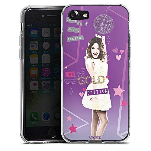 Apple iPhone X Silikon Hülle Case Schutzhülle Disney Violetta Fanartikel Zubehör Silikon Case transparent