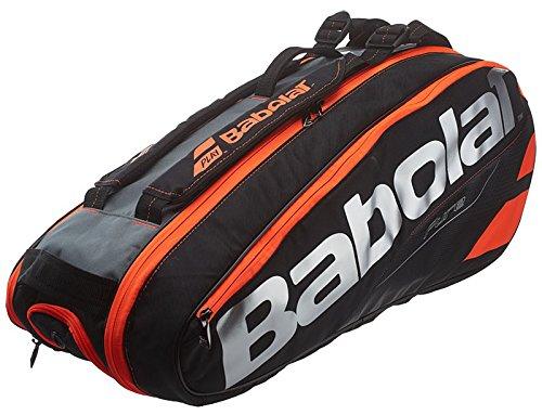 Babolat Racket Holder X 6 Pure Schlägertasche, Schwarz, 68 x 40 x 20 cm