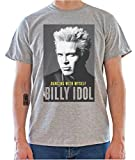 Billy Idol Dancing With Myself Poster Graphic Mens T-Shirt X-Large