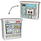Vorratsdose / Aufbewahrungsbox - ' Waschmittel ' -...