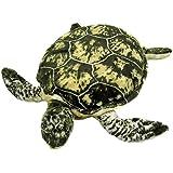 Plüschtier Schildkröte - grau-grün - 55 cm