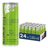 Red Bull Energy Drink Kiwi-Apfel 24 x 250 ml OHNE Pfand Dosen Getränke, Green Edition 24er Palette