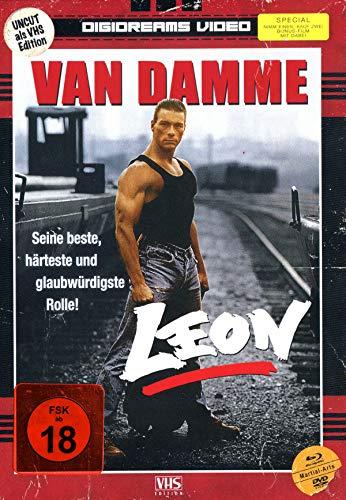 Leon - Mediabook - Uncut - Limitiert auf 250 Stück (Nummeriert) (+ DVD) [Blu-ray]