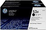 HP 53X 2er-Pack (Q7553XD) Schwarz Original Toner mit hoher Reichweite für HP Laserjet P2014, P2015, P3005, M2727, M3027, M3035