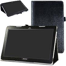 """Archos 133 Oxygen Custodia,Mama Mouth slim sottile di peso leggero con supporto in Piedi caso Case per 13.3"""" Archos 133 Oxygen Andorid 6.0 Tablet PC,Nero"""