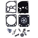 HIPA RB-40 Kit Joints de Réparation pour Carburateur ZAMA C1Q-S33 C1Q-S34 C1Q-S35 C1Q-S36 C1Q-S51 C1Q-SK4