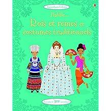 Habille... Rois et reines et costumes traditionnels - Autocollants Usborne (volume combiné)