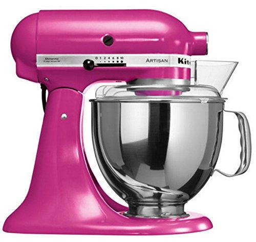 KitchenAid-Artisan-Robot-ptissier-300-W-48-l-Rose-avec-levier-220-trmin-cble-de-1454-m-CA