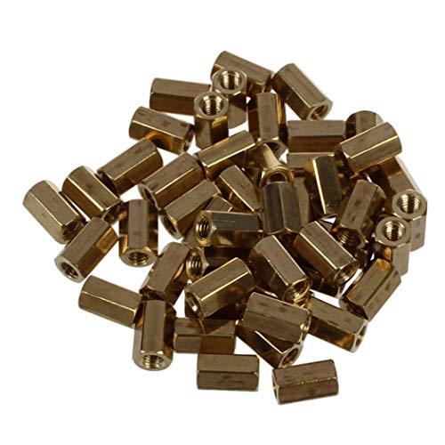50 x 8 mm Länge M3 weiblich Zylinderschraube Sechskant Abstandshalter PCB