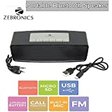 Zebronics Portable Bluetooth Speakers (Black)