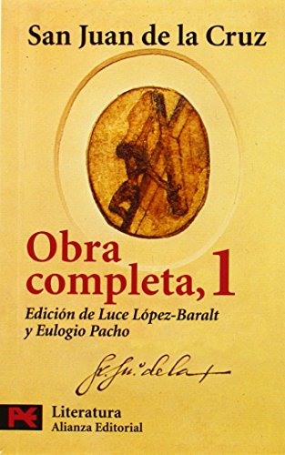 Descargar Libro Obra completa, 1 (El Libro De Bolsillo - Literatura) de San Juan de la Cruz