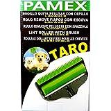 Rodillo Quita-Pelusas con Cepillo. Lavable. Ideal para pelo de los animales, pelusas, hilos, migas, etc..