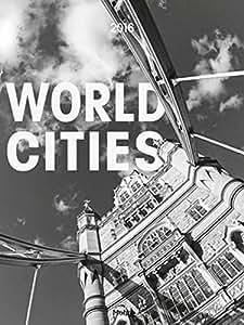 Calendrier 2016World Cities Villes du Monde photo art mural calendrier 48x 64cm