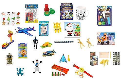 35 Teile für Jungs Adventskalender Füllung günstig unter einem euro Set Spielsachen Spielzeuge Mitgebsel