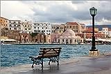 Poster 150 x 100 cm: Venezianischer Hafen auf Kreta,
