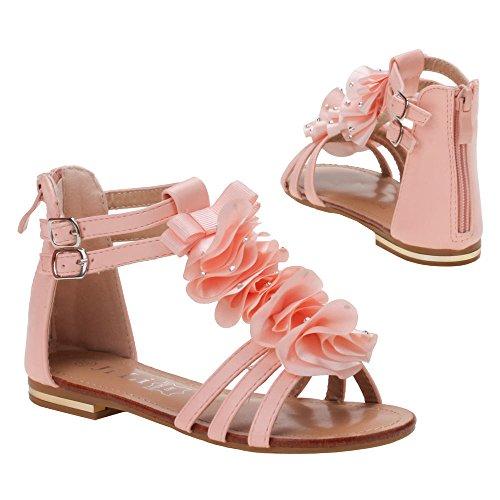 Chaussures pour fille, l- 221–1, sandales Rose - Rosa S