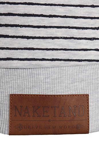 Naketano Female Zipped Jacket Nasenhaarwickler Amazing Grey Melange