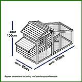 Kaninchenstall NCH10 M, Feel Good UK, doppelstöckig, mit innovativen Schließmechanismus - 2
