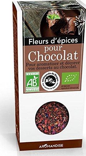 Fleurs épices chocolat, 40 g, Boîte ?arton