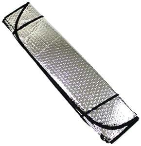aerzetix pare soleil protection tableau de bord 130 60 cm pour voiture auto utilitaire. Black Bedroom Furniture Sets. Home Design Ideas