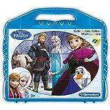 Disney - Cubos 12, diseño Frozen (Clementoni 414093)