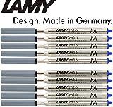 LAMY M 16 Kugelschreiber-Großraummine aus Metall, dokumentenecht, Strichbreite: M (10er Spar-Pack, blau)