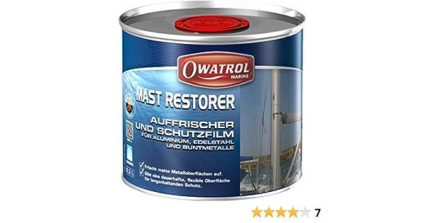 Owatrol Mast Restorer Aluminium Auffrischer 0 5 Liter Sport Freizeit
