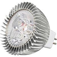 awhao® Bombillas LED 3W 4W 6W Bombilla lámparas ahorro de energía lámparas blanca cálida[Clase de eficiencia energética A+++] (6W MR16)