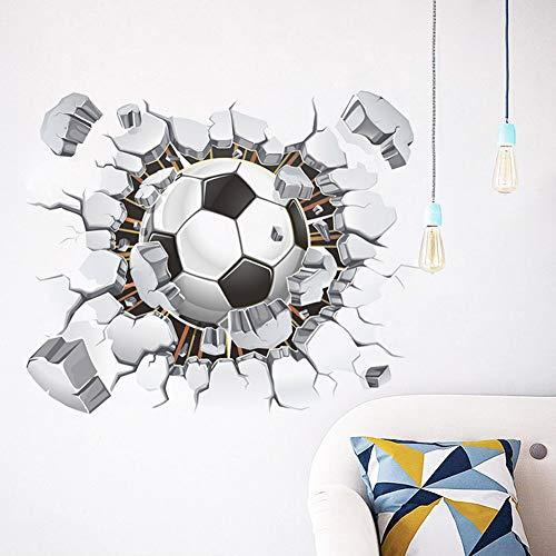 Die Explosion der Wohnzimmer Schlafzimmer Hintergrund Fußball Aufkleber Aufkleber Football Club dekorative Aufkleber