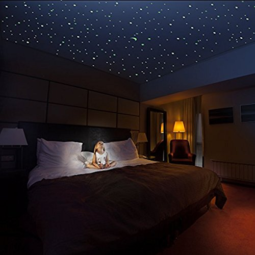 Kolossalz Galaxy Of Stars Radium Glow In The Dark Wall Sticker