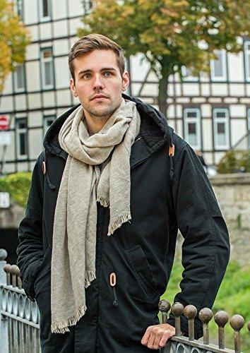 accessu - Echarpe - Homme Taille Unique gris clair