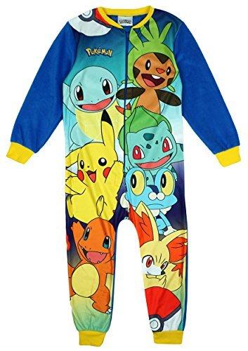 Pokemon-Pijama-de-una-pieza-para-nio