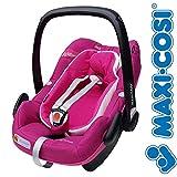 NEU Maxi-Cosi Babyschale (0-13 kg) Pebble Plus i-Size Kindersitz Sitzschale R129 FREQUENCY PINK