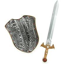 Kit escudo y espada caballero medieval niño - Única
