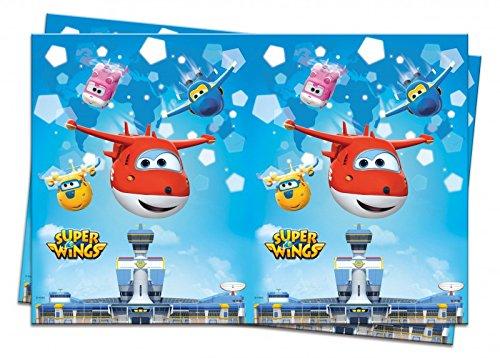 Super Wings Tischdecke (Disney Planes Kunststoff Tischdecke)